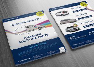 Campagna pubblicitaria per Peugeot