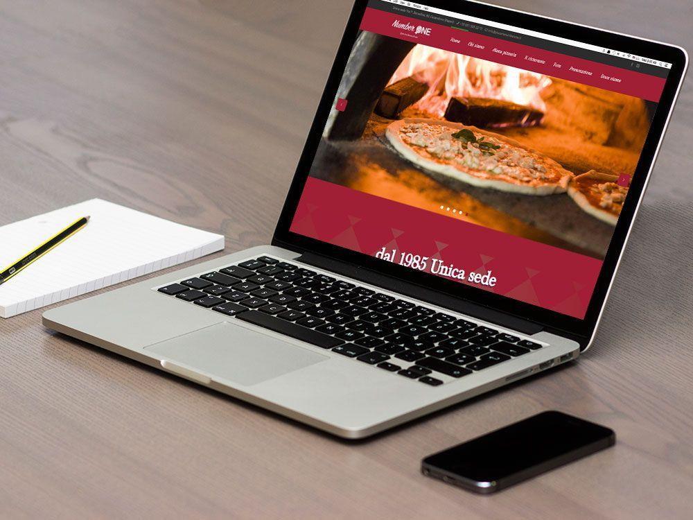Creazione sito web per pizzeria
