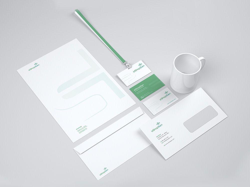Logo e Immagine coordinata ecommerce medico salerno