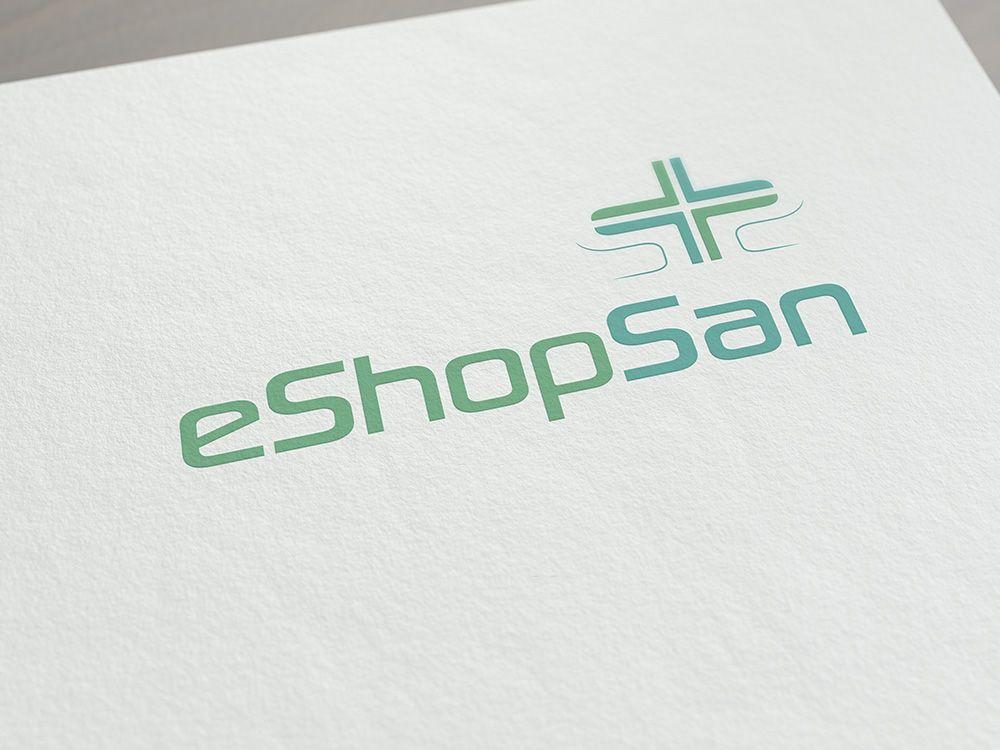 Logo e Immagine coordinata ecommerce medico