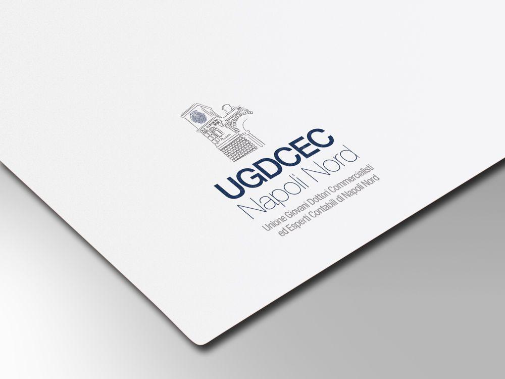 Logo e immagine coordinata associazione commercialisti napoli nord