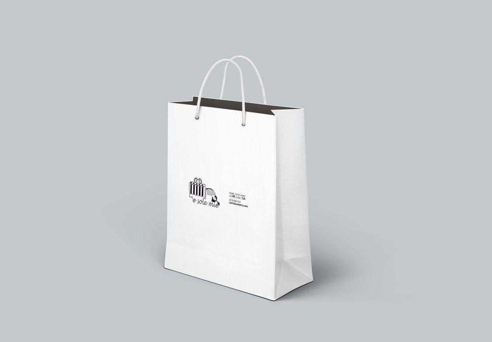Logo e immagine coordinata attività commerciale caserta napoli