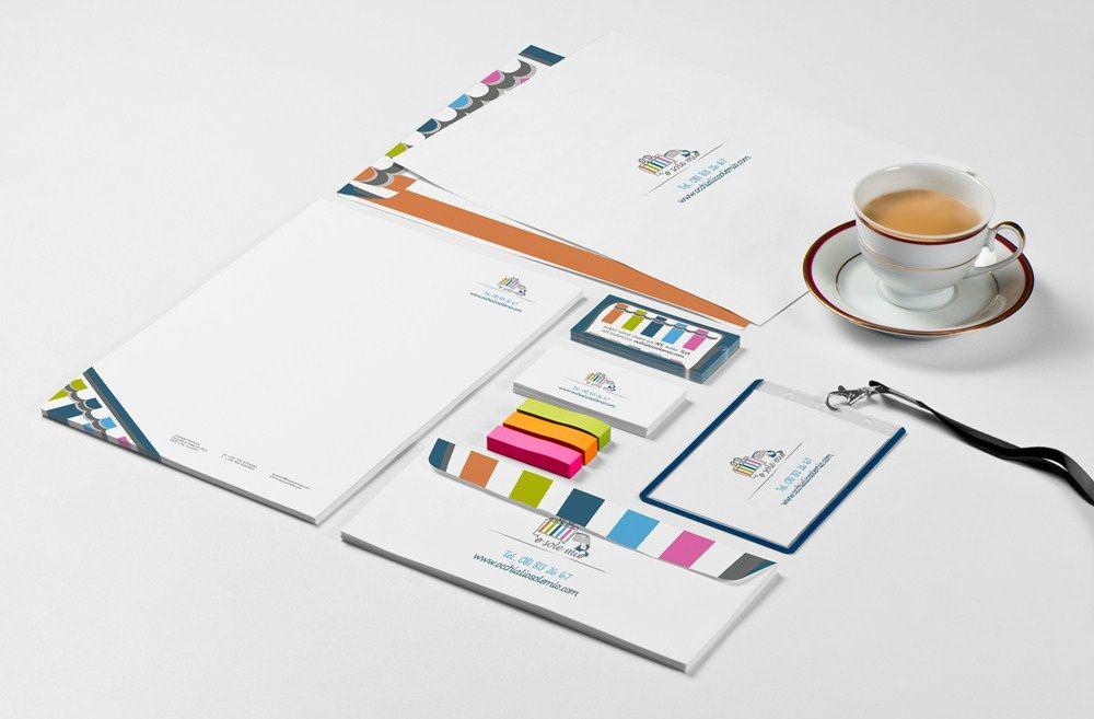 Logo e immagine coordinata attività commerciale napoli