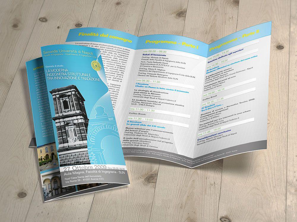 Realizzazione brochure per Università