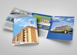 Realizzazione brochure per azienda edile