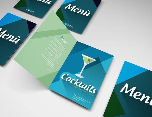 Realizzazione menu per lounge bar