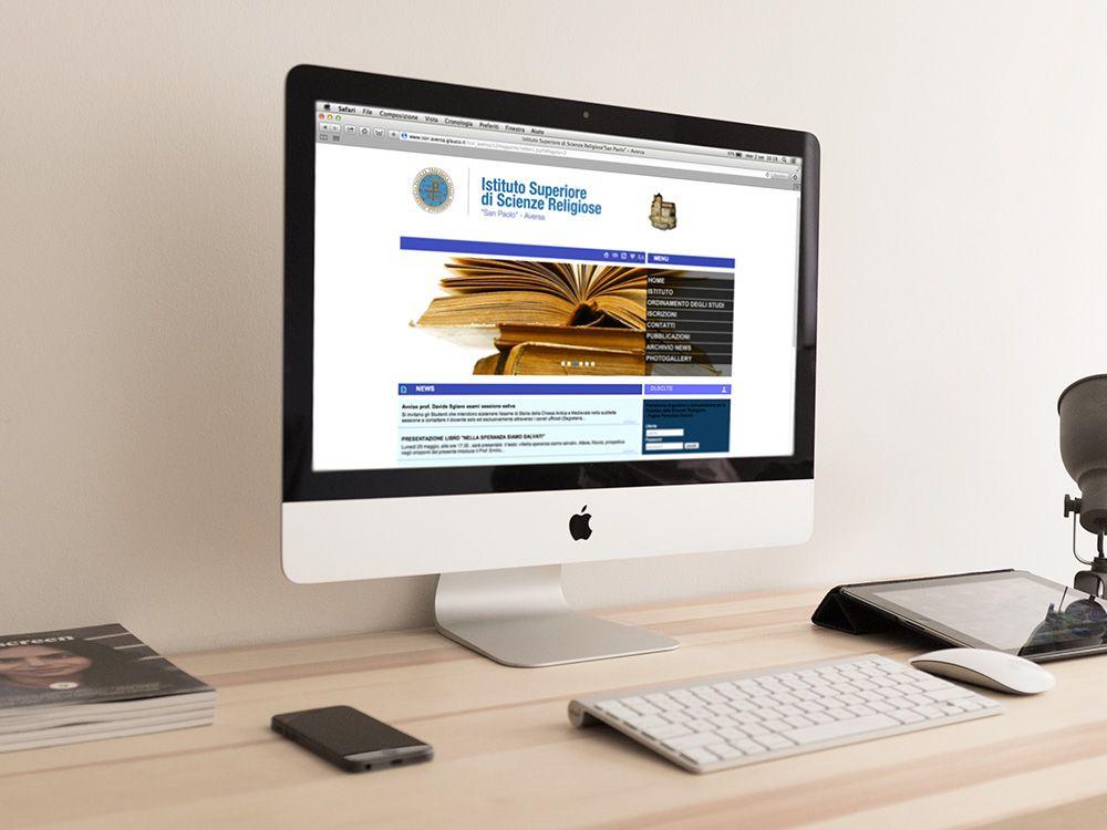 Realizzazione sito web per istituto religioso