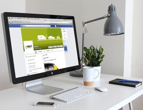 Social media marketing aziendale per B-Rent