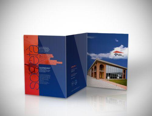 Brochure realizzata per impresa edile di Pisa