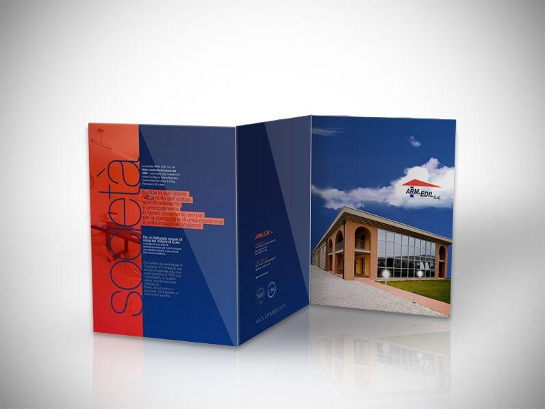 Brochure per impresa edile di Pisa