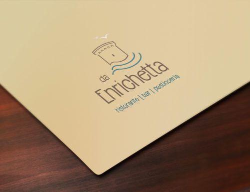"""Logo e comunicazione startup Ristorante """"da Enrichetta"""""""