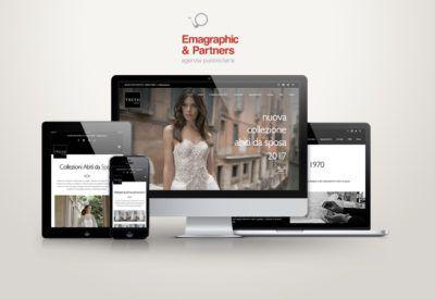 Sito web ottimizzato atelier abiti