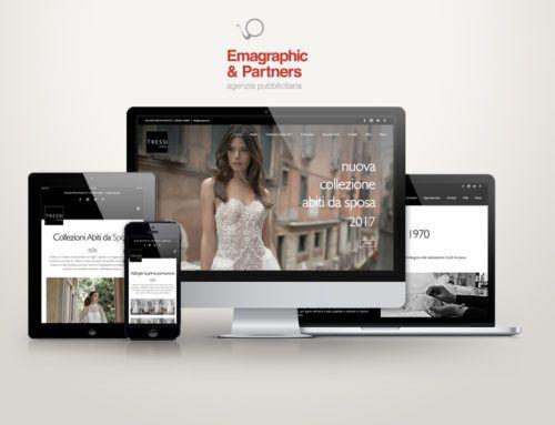Sito web per Atelier Tressi Spose
