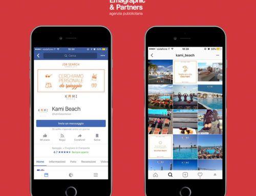 Gestione social per stabilimento balneare Kami Beach