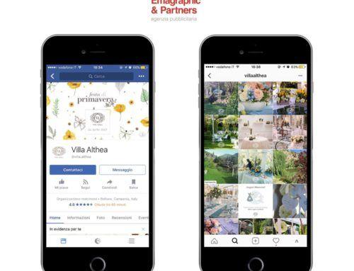 Gestione social e portali per Villa Althea