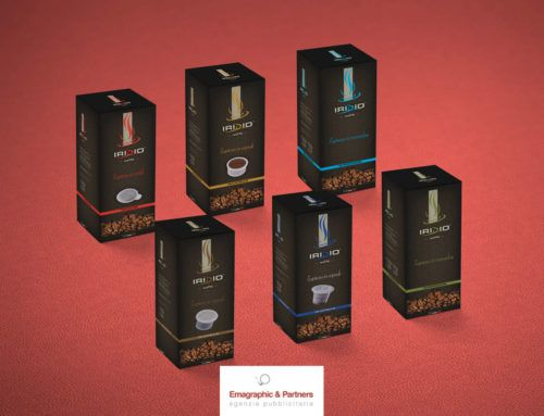 Packaging caffè Iridio