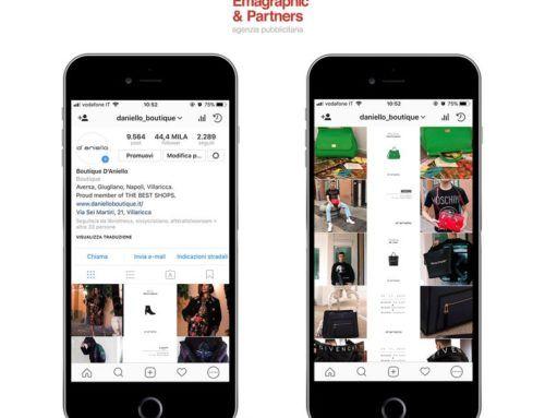 Gestione social per d'aniello boutique