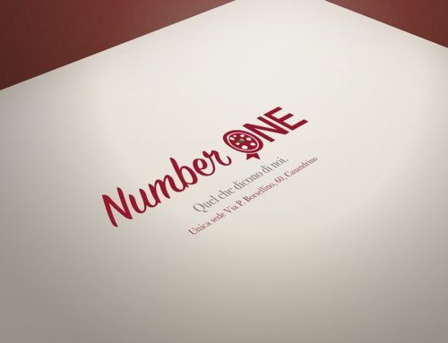 Logo e coordinato aziendale Pizzeria Number One