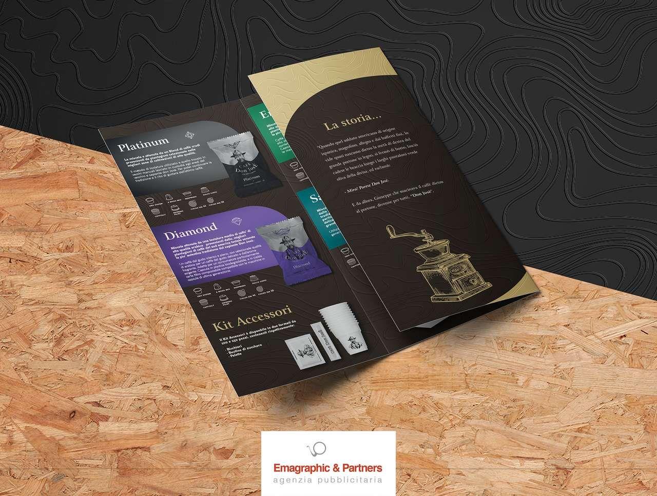 Immagine coordinata, packaging cialde e catalogo prodotti (5)
