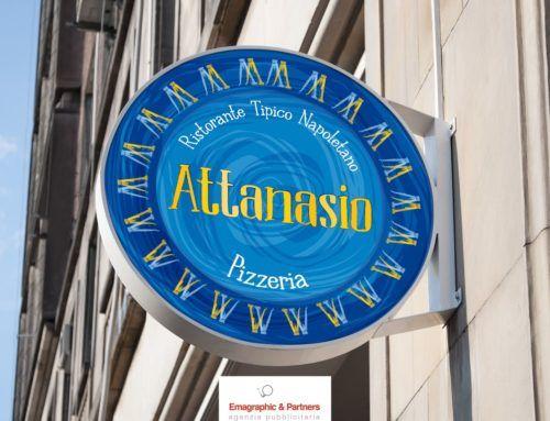 Logo, immagine coordinata e allestimenti pizzeria Napoli