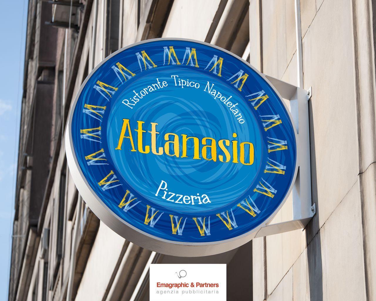 Logo, immagine coordinata e allestimenti pizzeria Napoli (3)