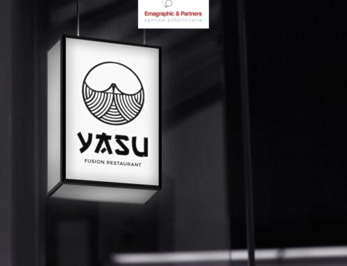 Logo e immagine coordinata ristorante Fusion Sushi