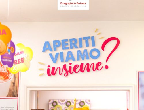 Grafica Allestimenti punto vendita – Monet Bar Gelateria