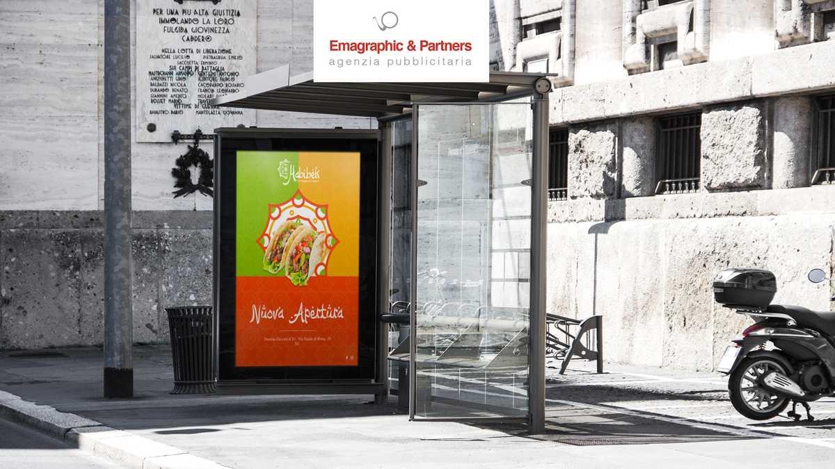 Startup: logo, immagine coordinata, menu, allestimenti interni, campagne pubblicitarie